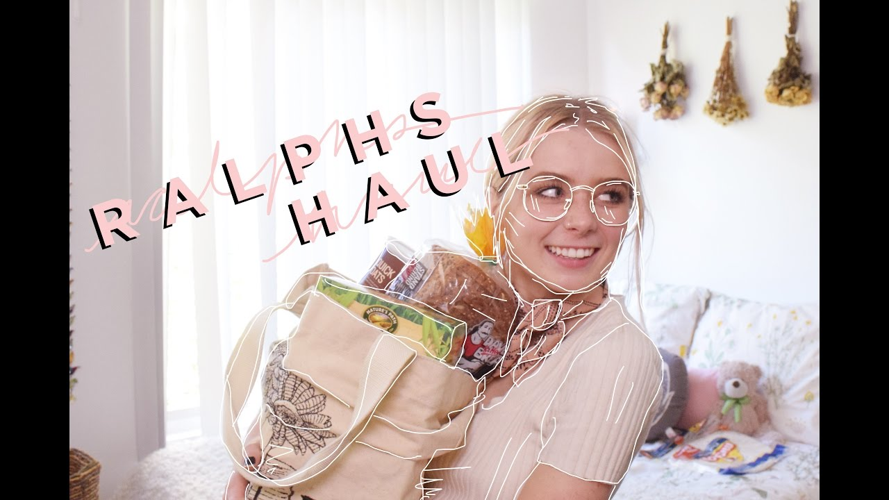 Ralphs Haul || Some Thoughts on Grocery Shopping - YouTube