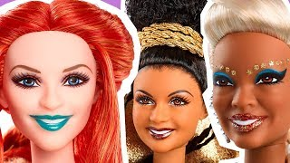 A Wrinkle in Time Barbie dolls: Mrs. Which, Mrs. Who and Mrs. Whatsit