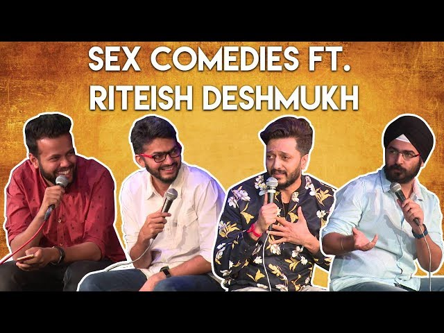 EIC vs Bollywood: Sex Comedies ft. Riteish Deshmukh