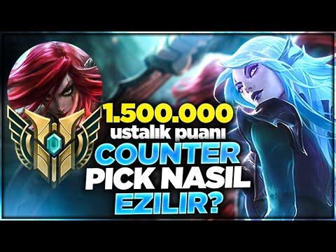 1.500.000 PUANLI KATARİNA !! COUNTER PİCK NASIL EZİLİR !! | Ogün Demirci
