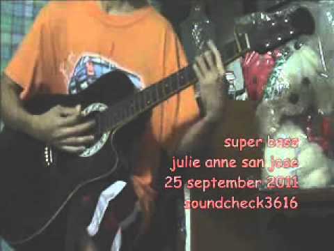 Super Bass Nicki Minaj Julie Anne San Jose Acoustic Cover