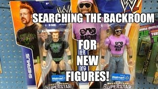 WWE ACTION INSIDER: Back Room of Walmart! Exclusive Superstars Entrances series Mattel figures