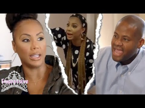 Download Youtube: Tamar Braxton and Vince fighting each other on TV | Embarrassing SMH! (Episode Review)