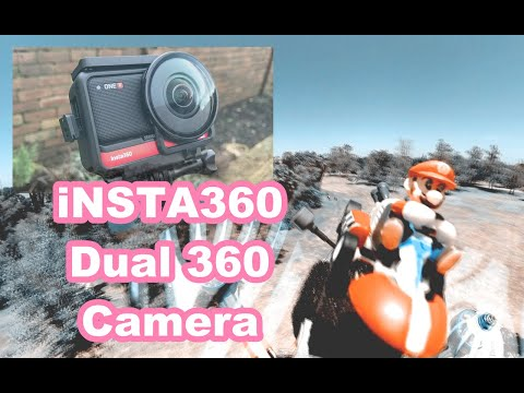 Фото INSTA360 ONE R DUAL 360 CAMERA COLLAB SUPER MARIO!! 4K DJI FPV DRONE VIDEO!!