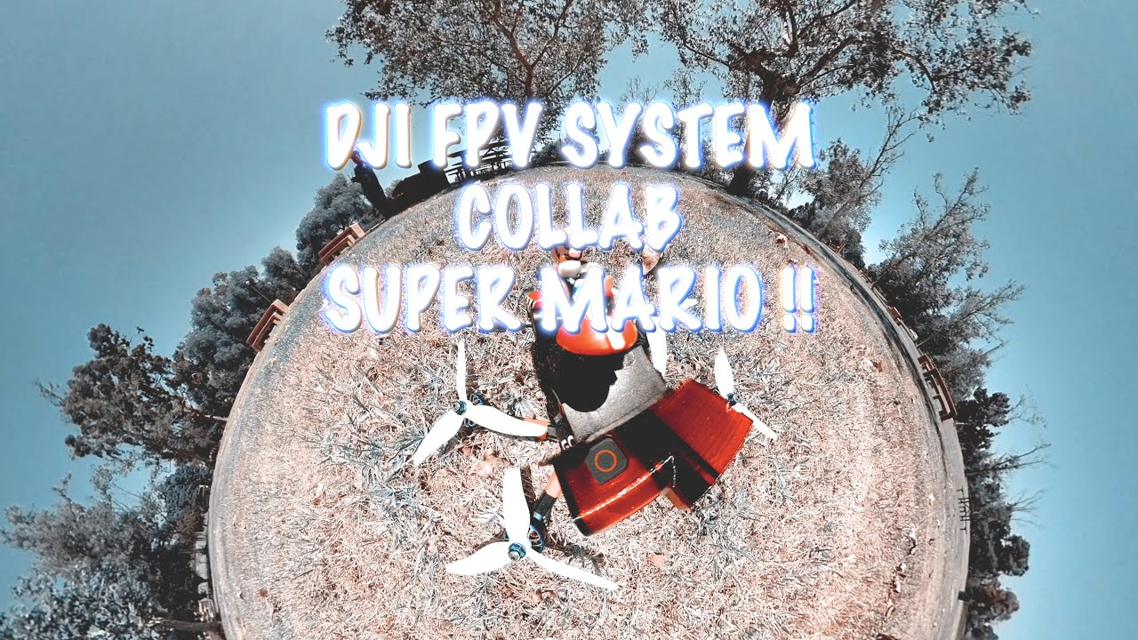 INSTA360 ONE R DUAL 360 CAMERA COLLAB SUPER MARIO!! 4K DJI FPV DRONE VIDEO!! картинки