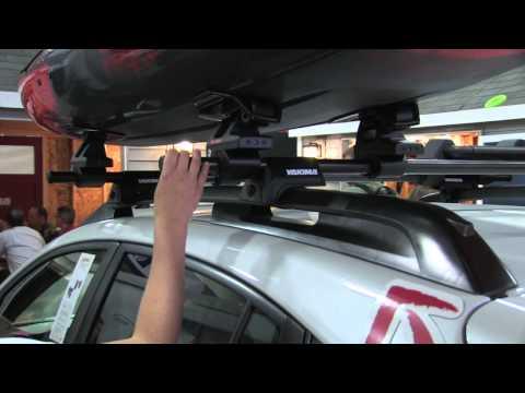 The Sweet Roll Roof Rack By Yakima | Adventure Kayak | Rapid Media