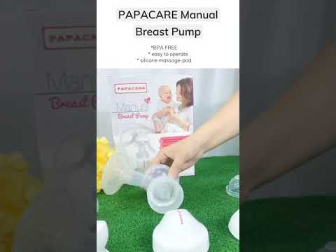 Twins Baby - Papacare Manual Breast Pump