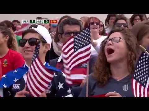 USA vs. Spain, WRWC 2017 (August 13, 2017)