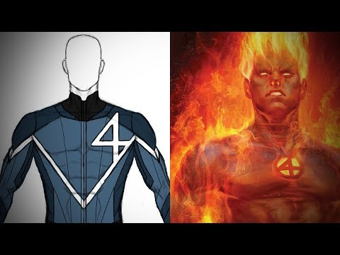 Human Torch Cosplay! Part 1: Planning