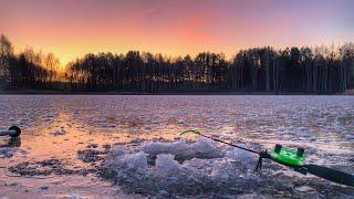 В КАЖДОЙ лунке ПОКЛЕВКА Первый лёд 2019 2020 Зимняя рыбалка на озере Ротан зимой