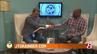 Author J.T. Grainger: TV Interview on Indianapolis Morning Show