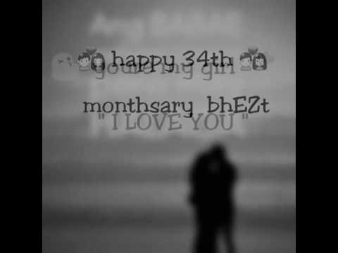Happy 34th Monthsary Message Doovi