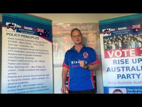 Rise Up Australia - Multiculturalism