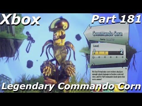 Plants vs Zombies GW 2 - Legendary Commando Corn Gameplay , FRONTLINE FIGHTERS DLC Part 181