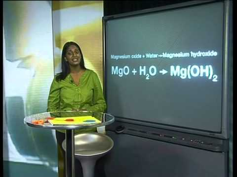 Reactions Of Group II Metal-Oxides With Water