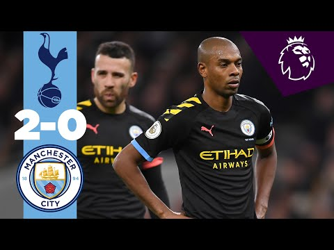HIGHLIGHTS | TOTTENHAM 2-0 MAN CITY | BERGWIJN, SON