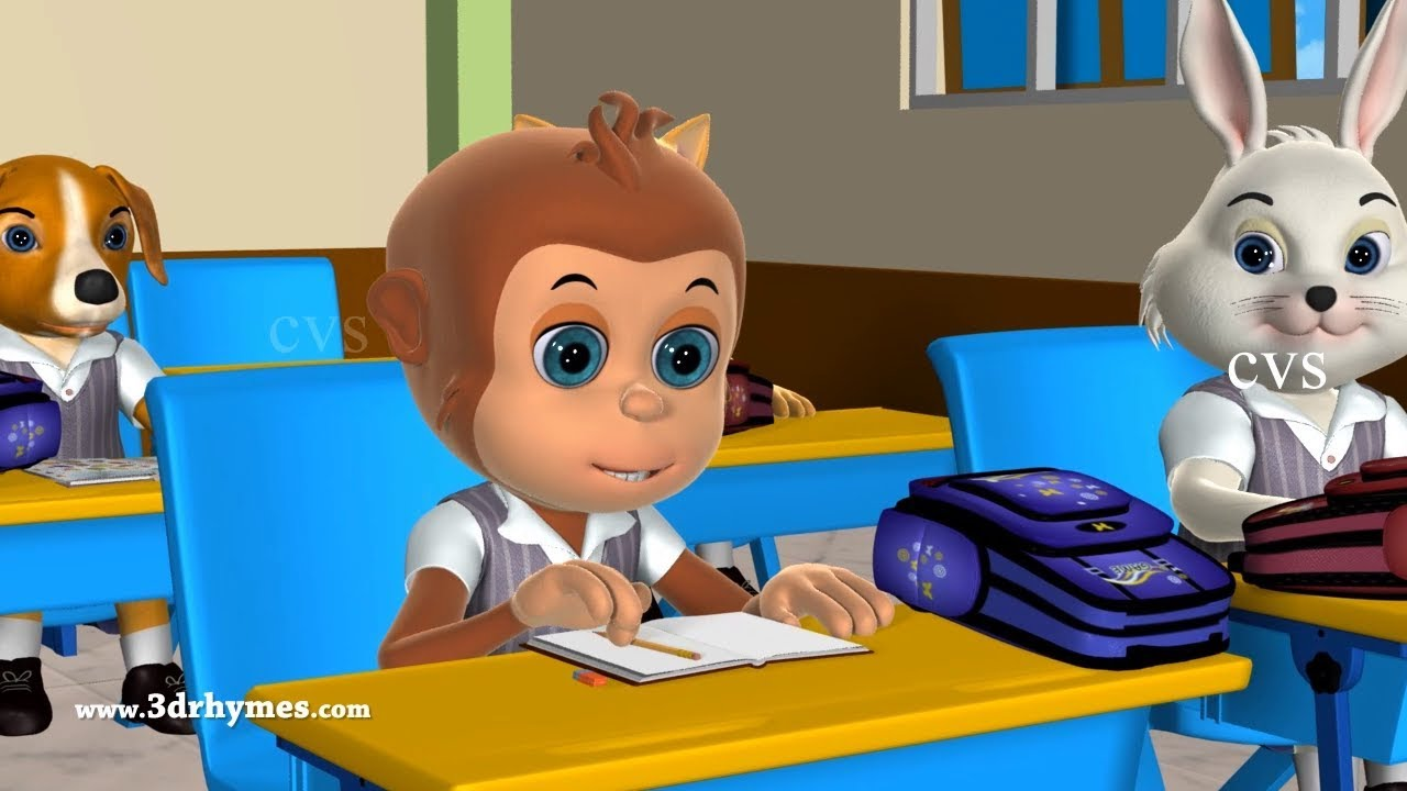 Johny Johny Yes Papa Nursery Rhyme   Part 3B - 3D Animation Rhymes & Songs for Children