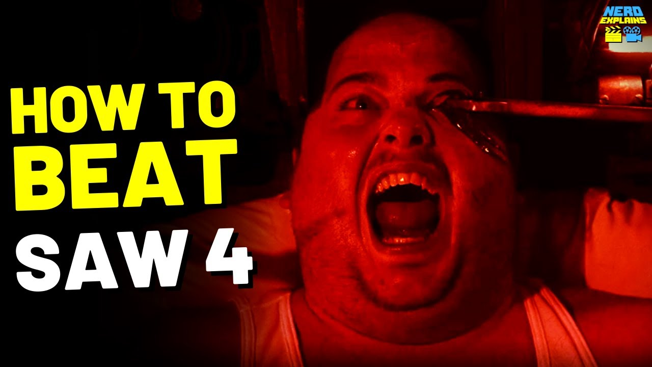 """Download How to Beat the DEATH TRAPS in """"SAW 4"""" (2007)"""