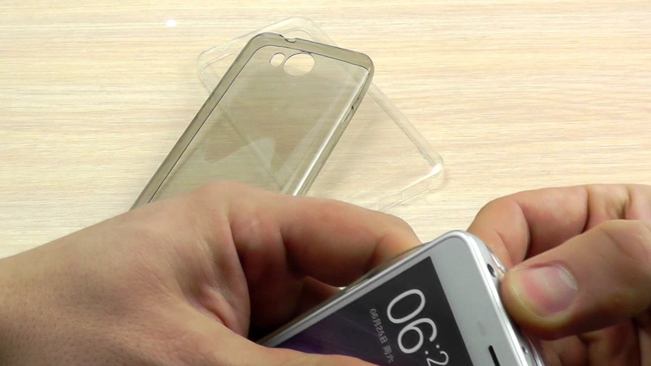 ОБЗОР: Стильный Кожаный Чехол-Книжка для Huawei Y5 II с Окном и .