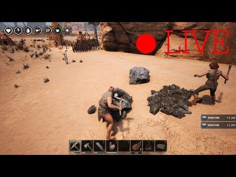 [Live] Conan Exiles สร้างหมู่บ้าน | SOKKLEK TV