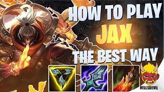 WILD RIFT | H๐w To Play Jax The BEST Way! | Challenger Jax Gameplay | Guide & Build