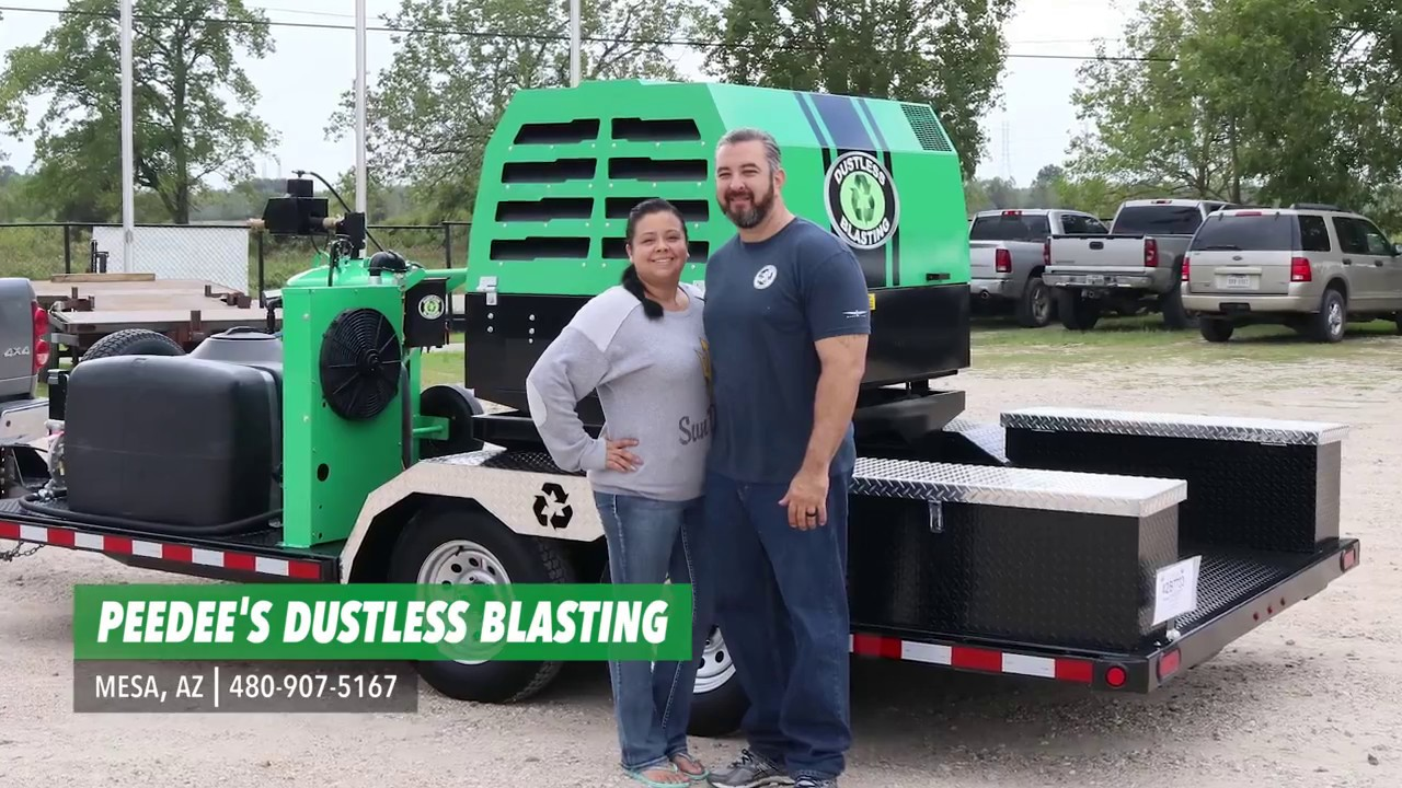 Paint Fails, YOU WIN with a Dustless Blasting Business!