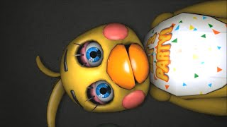 Чика и Бонни нянчат детей BB BJ 5 Ночей с Фредди Анимация Фнаф