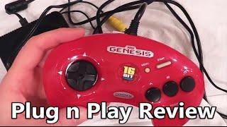 Sega Genesis Play TV Legends Volume 2 Plug n Play Review - The No Swear Gamer Ep 85