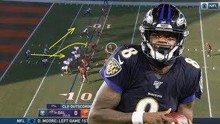 Film Study: How Lamar Jackson led the Ravens to the best record in the AFC
