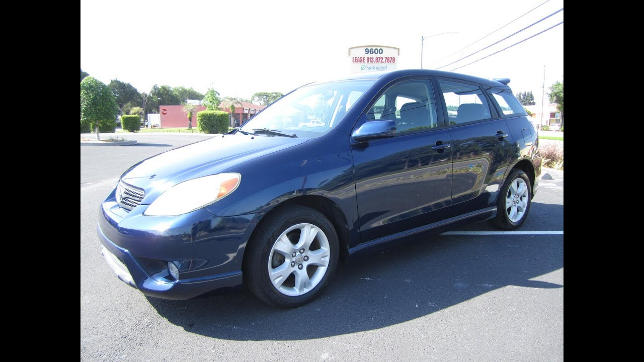 Sold 2006 Toyota Matrix Xrs One Owner Meticulous Motors Inc Florida For You