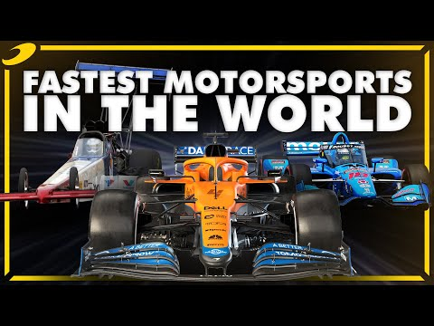 How Fast Is F1 Compared To Other Motorsport Series? (IndyCar, NASCAR, WEC, WRC)