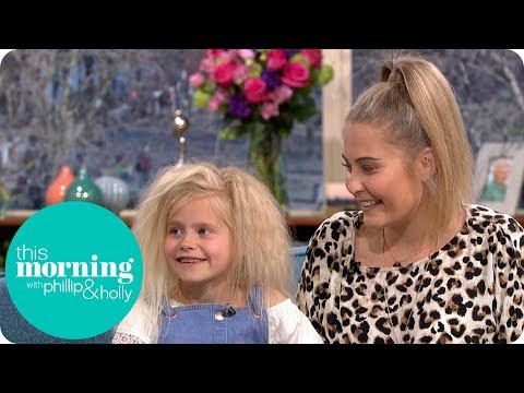 The 7-Year-Old Diagnosed With Uncombable Hair Syndrome | This Morning