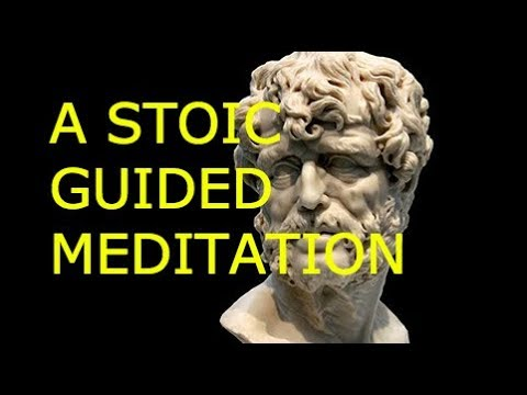 STOICISM - 10 MINUTE GUIDED MEDITATION FOR PERSPECTIVE