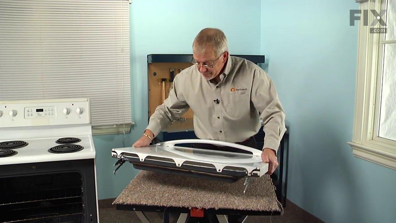 Frigidaire Range Repair How To Replace The Door Handle