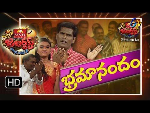 Extra Jabardasth - 5th August 2016- Full Episode  ETV Telugu