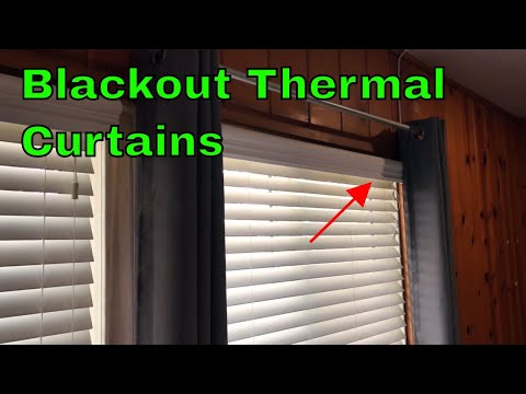✅  Nicetown Blackout Thermal Curtains Review