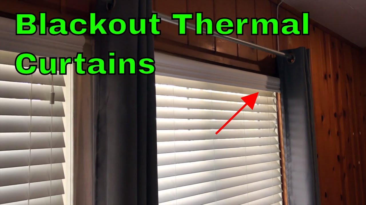 Ready Made Thermal Curtains How To Use Nicetown Blackout Thermal Curtains Review