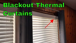 ✅  How To Use Nicetown Blackout Thermal Curtains Review