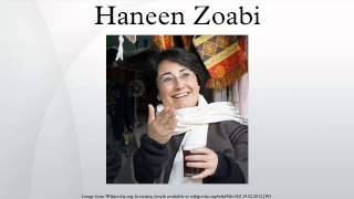 Haneen Zoabi