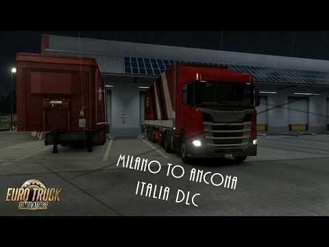 Euro Truck SImulator 2 Italia DLC Milano to Ancona