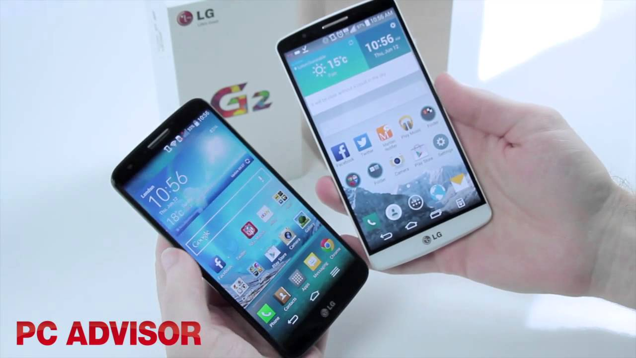 Phone Difference Between Android And Smart Phones lg g3 vs g2 whats the difference between two android smartphones pc advisor