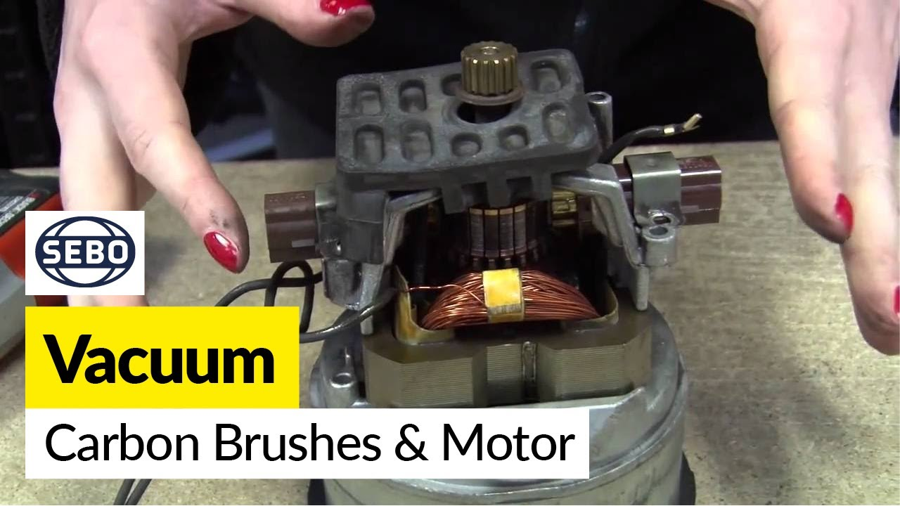 How To Replace The Carbon Brushes And Motor On A Sebo X1