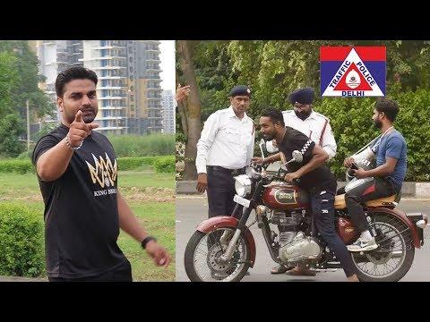 अब नहीं कटेगा चालान !! - Is traffic police doing right ? - King Indian