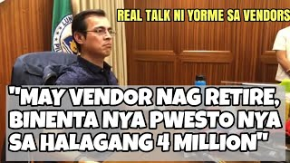 Real Talk ni Mayor ISKO about Divisoria