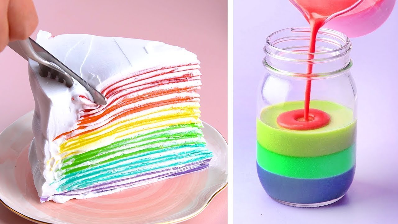 How To Make Cakes For Your Coolest Family | So Yummy Colorful Cake Ideas | Tasty Plus Cake