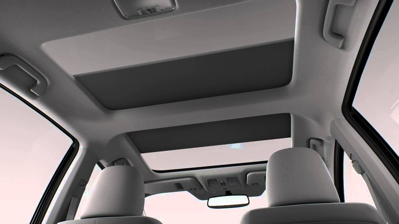 2012 Prius V Panoramic Resin Roof Youtube