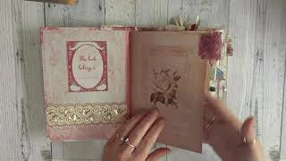 Hand Made Vintage Journal using digital files