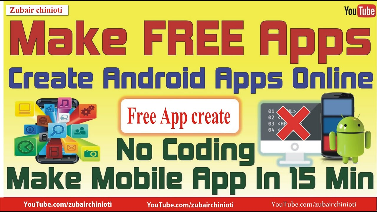 How to make a Free Android App in 10 Minutes - YouTube