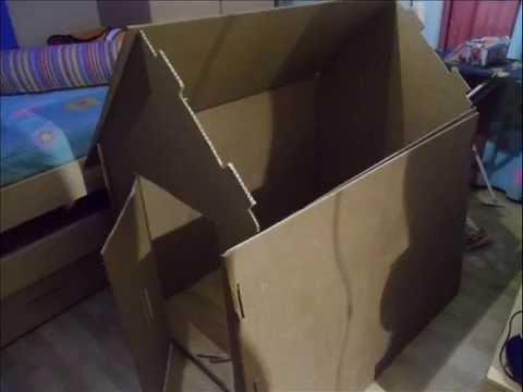 Manualidades casita de carton reciclado paso por paso youtube Manualidades para hacer en casa paso a paso