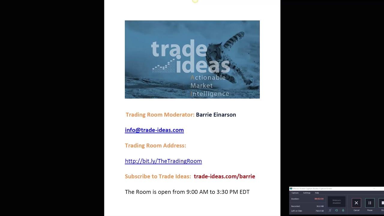 Trade Ideas Live Trading Room Recap Friday March 15, 2019